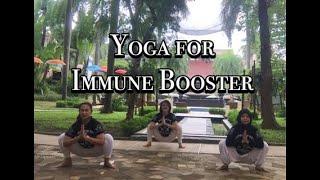 Yoga For Immune Booster - Cuma 4 Menit - Imun Kuat, Virus Pun Kabur