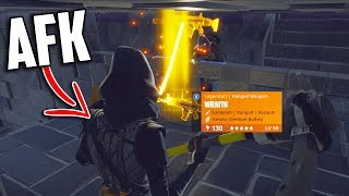 """I Went AFK With The *NEW* Silenced Wraith (Exposing """"SAFE"""" Trading Box) - Fornite Save The World"""