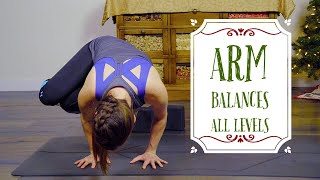 Fit and Focused Holiday Challenge Day 16: Arm Balances- All Levels || Asana With Samantha