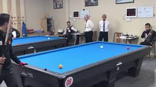 Trần Quyết Chiến vs Trần Bảo Vương. Billiards Út Nhi