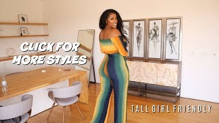 SEXY JUMPSUITS FOR TALL WOMEN | HUGE ASOPH TRY- ON HAUL