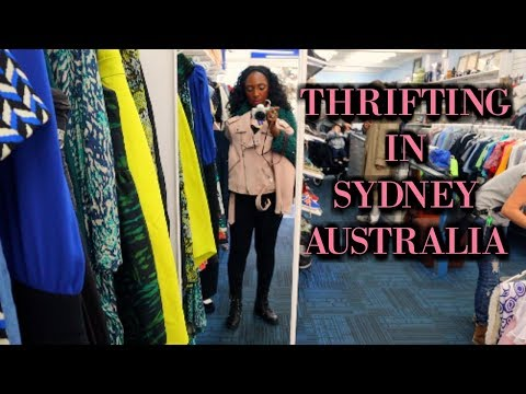 Come Thrift Store Shopping With Me In Sydney Australia | NikkiBeautyBliss