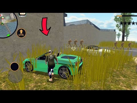 Miami Crime Simulator (Car Parked Army Base Left Side) - Miami Crime Simulator Game Video - HD