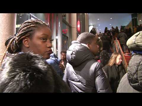 Black Panther release  in Stockholm: African community were mobilized