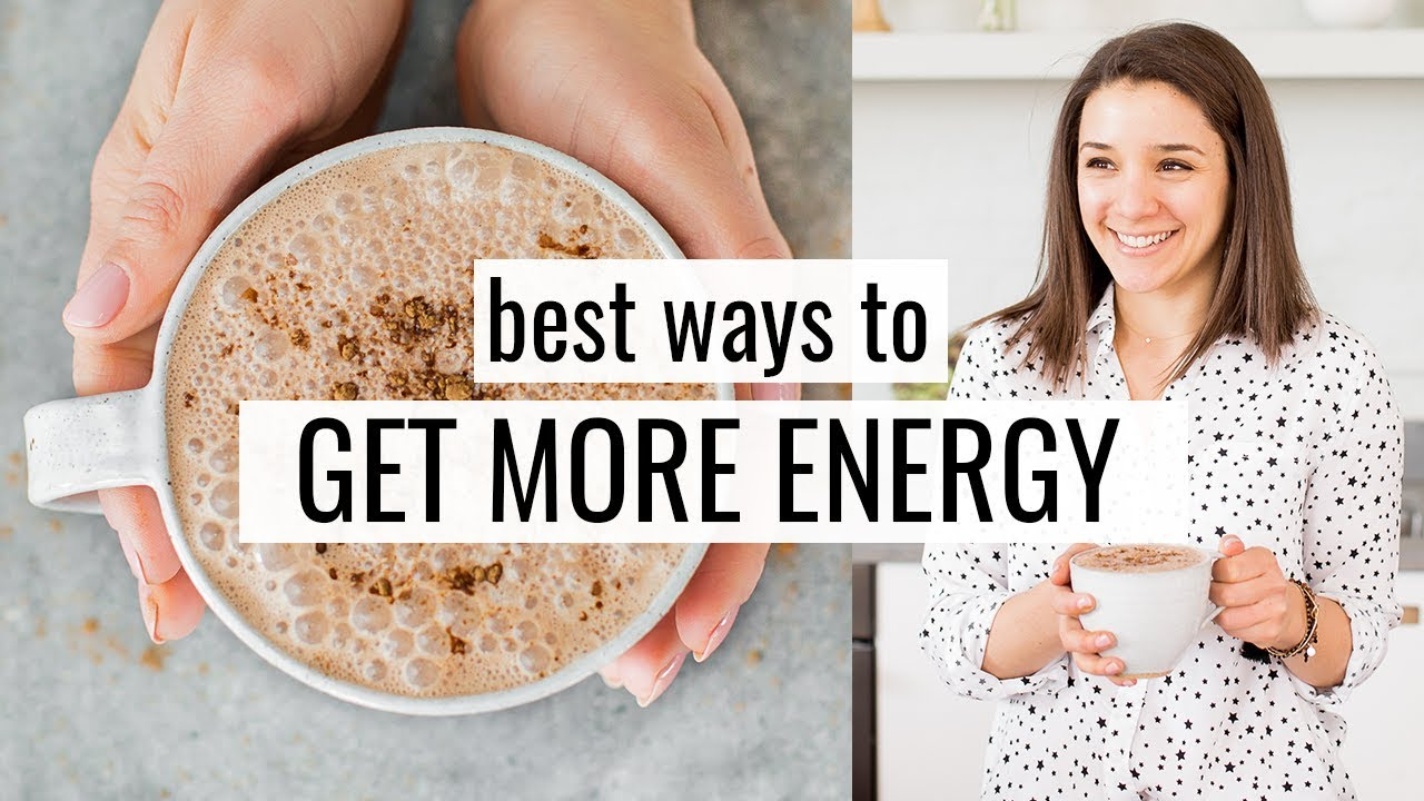 What I Eat & Drink for MORE ENERGY ⚡️+ my 5 best tips