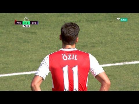 Mesut Özil vs Everton (Home) 16-17 HD 720p [EPL]