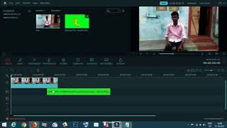 How to make Green Screen Effect in Filmora Tamil
