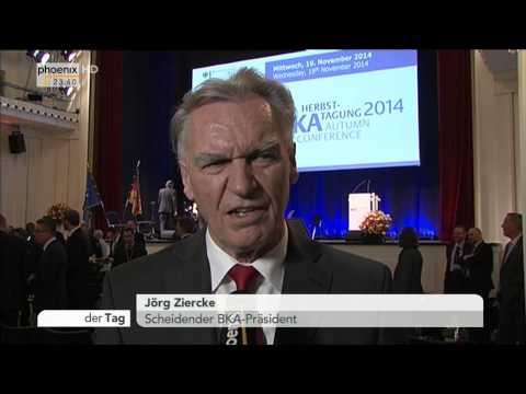 Einsatz von V-Leuten: Jörg Ziercke kritisiert den Koalitionsvertrag in Thüringen am 19.11.2014