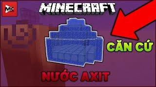 Xây Dựng Căn Cứ Bên Dưới Biển Nước A Xít Trong Minecraft Server : sv.minehot.com | MK Gaming