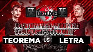 INSTRUMENTAL TEOREMA VS LETRA *BDM 2018* (MINUTAZO TEOREMA)