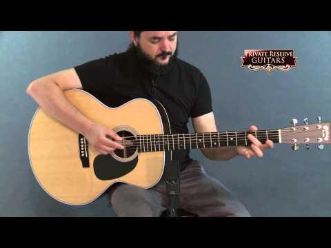 Martin Grand J-28LSE Baritone Acoustic-Electric Guitar Natural