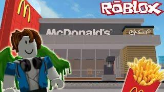 NOUS AVONS MC DONALDS! Roblox Mcdonald's Tycoon Indonésie