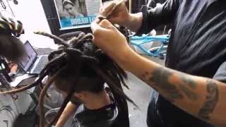 Penteado Dread Locks Moicano Masculino - Tinho Roots DreadMaker -