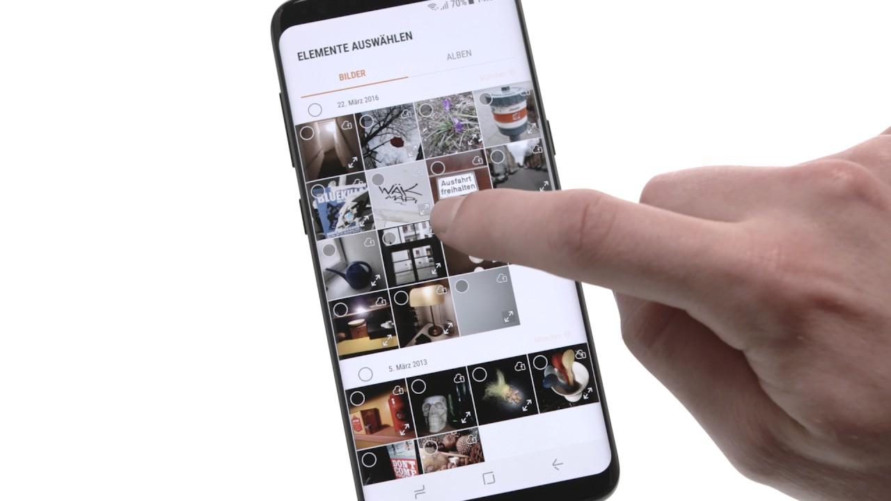 Bilder Auf Sd Karte Verschieben S8.Samsung Galaxy S8 Verwendung Von Sicheren Ordnern