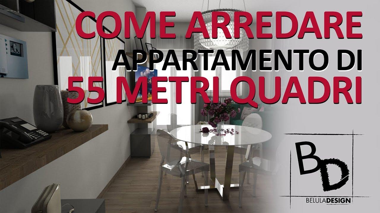 Come arredare un appartamento di 55 metri quadri youtube for Quadri per appartamento