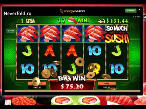Фриспины в Energy casino от very easy