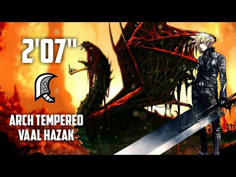 "[Monster Hunter World] Arch Tempered Vaal Hazak - 2'07"" thumbnail"