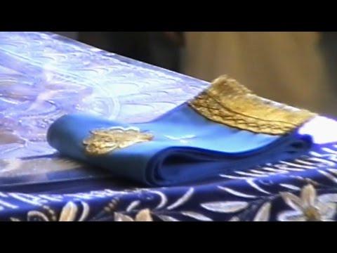 Чин выноса Плащаницы Пресвятой Богородицы в храме Святого Иоанна Кронштадтского.