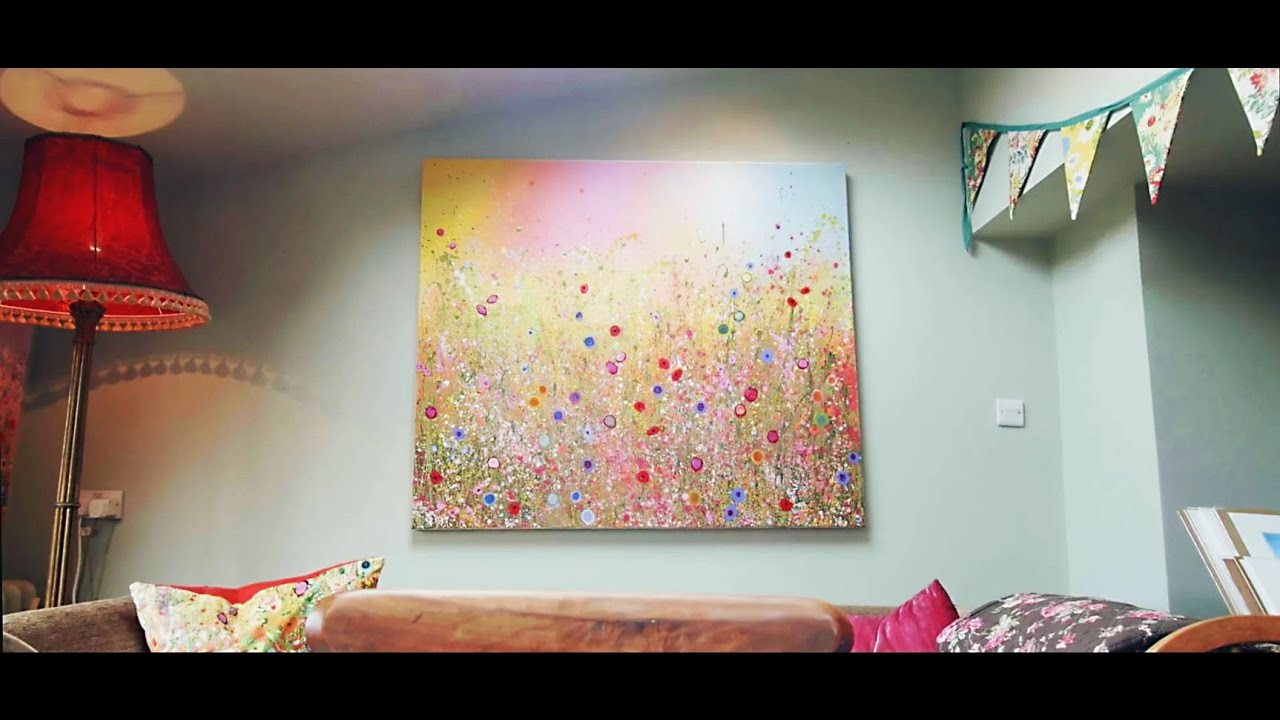 fe198e632b2 Yvonne Coomber  Contemporary British Flower Art (Preview) - YouTube