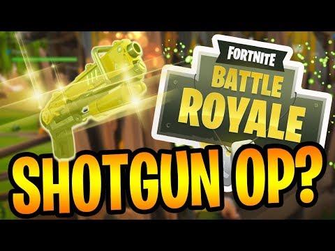 EPIC SHOTGUN!  Fortnite Battle Royale Gameplay