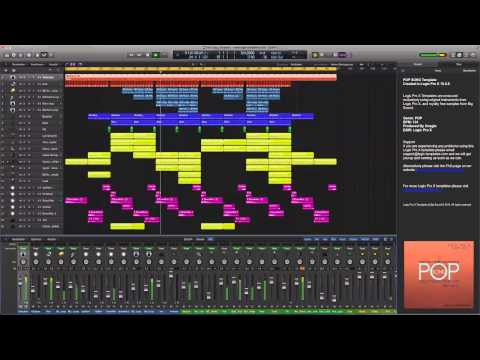 POP Song Logic Pro X Template