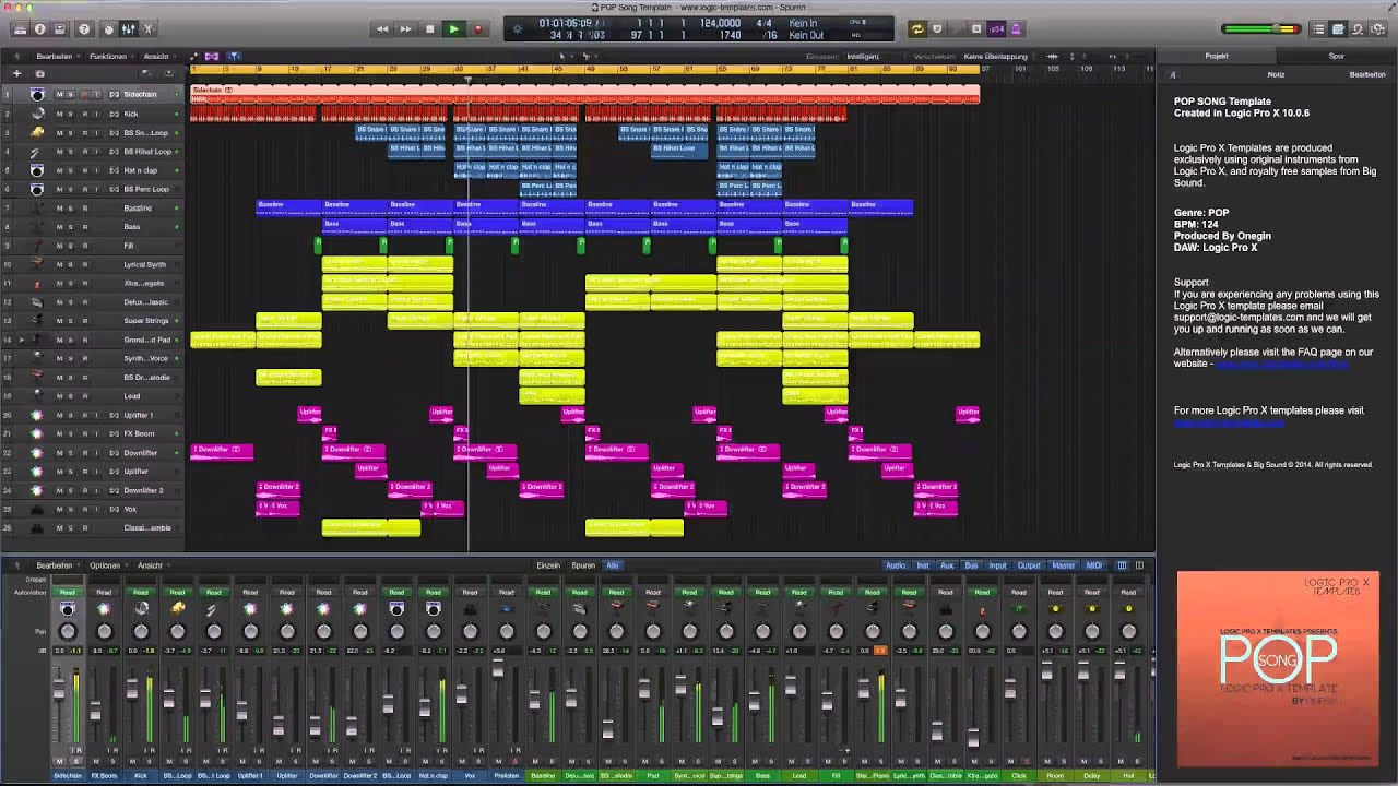 Pop song logic pro x template youtube pop song logic pro x template maxwellsz