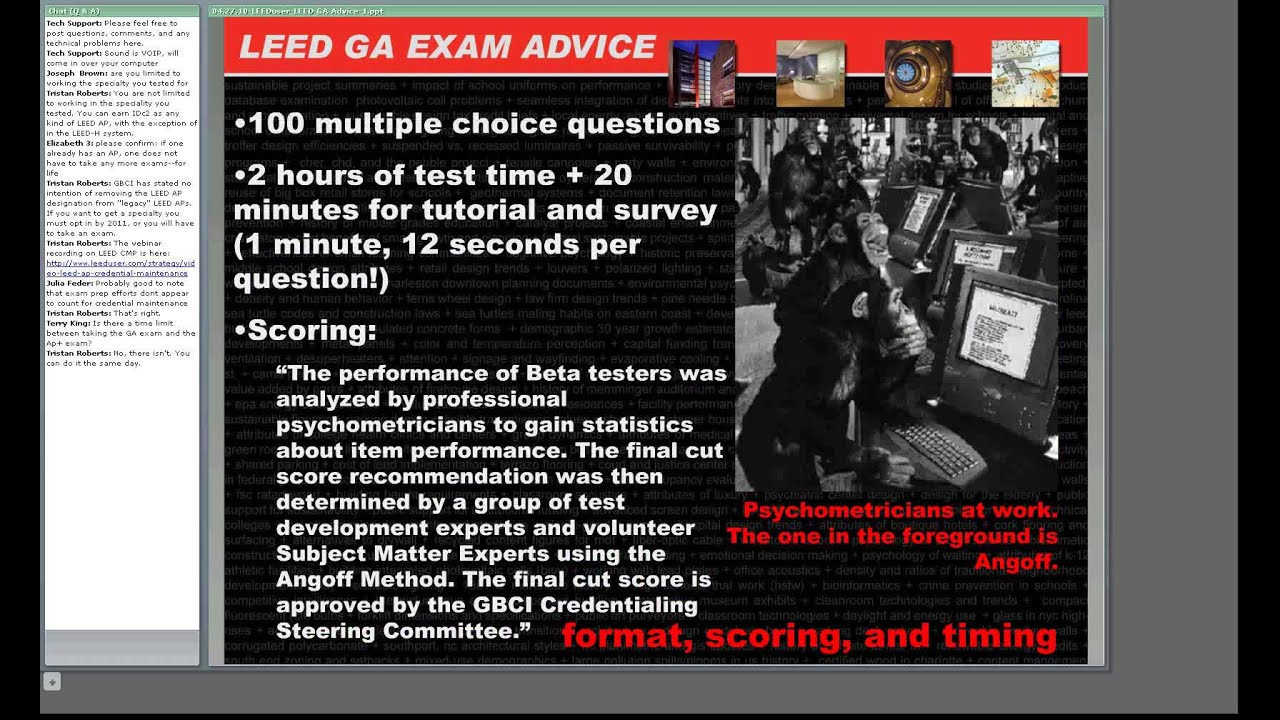 Studying for the leed ga exam tips from real life youtube studying for the leed ga exam tips from real life xflitez Images