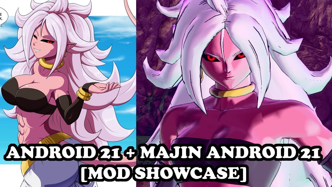 Majin Android 21 All Costumes Fighterz Mod Dragon Ball Xenoverse 2 Mods