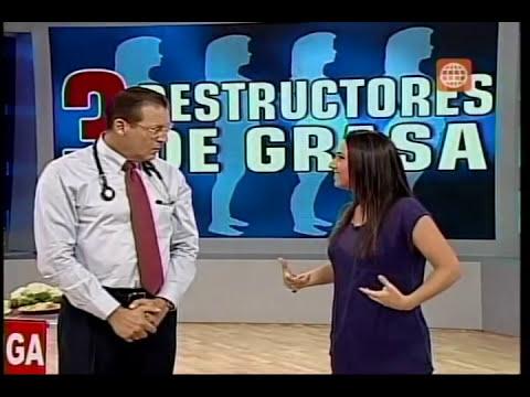Dr .TV Perú (10-03-2014) - B1 - Tema del día: 3 Destructores de la grasa