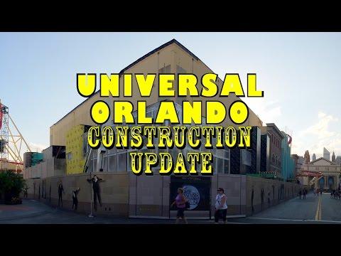 Universal Orlando Resort Construction Update 9.7.16 HHN Prep, Fallon, Fast and Furious