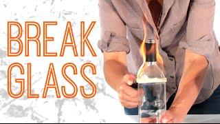 4 Badass Tricks To Break Glass