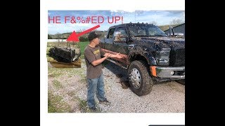 DUECE AND A HALF VS F450!  F450'S SHOULD BE MILITARY VEHICLES!!!