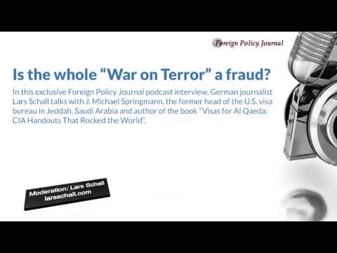 """Is the whole """"War on Terror"""" a fraud?"""