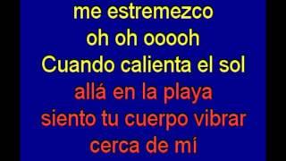 Cuando Calienta El Sol -    hermanos Rigual -  karaoke   Tony Ginzo