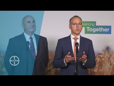 Bayer CEO Werner Baumann and Monsanto CEO Hugh Grant Discuss Bayer's Agreement to Acquire Monsanto