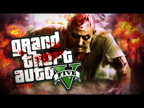 GTA 5 ZOMBIE APOCALYPSE MOD - ZOMBIE HORDES! FIGHT & SURVIVE! (GTA 5 Zombies)
