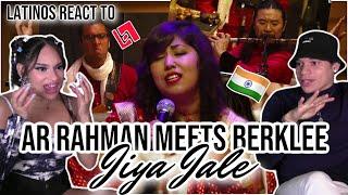 When MUSICAL GENIUSES meet, it sounds like this 🤯😵A.R RAHMAN meets Berklee - Jiya Jale 🇮🇳 🎶