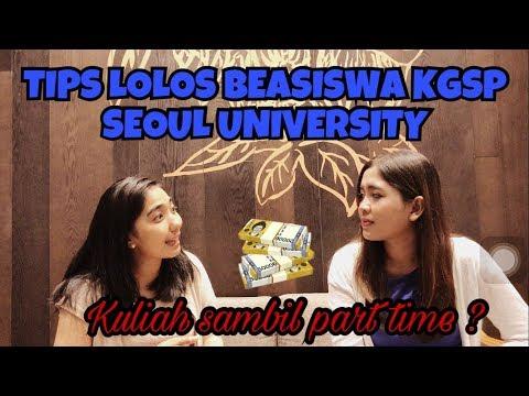 VLOG ZARA #021 TIPS LOLOS KGSP SEOUL UNIV DAN PART TIME DI KOREA
