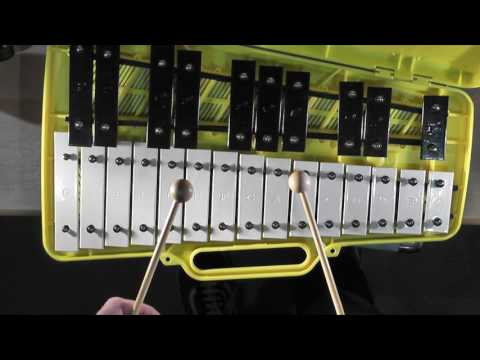 Lavender's Blue - 25 and 8 Note Glockenspiel Lesson