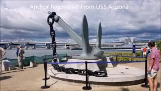 Remembering 75 Years Pearl Harbor Arizona Memorial Part I