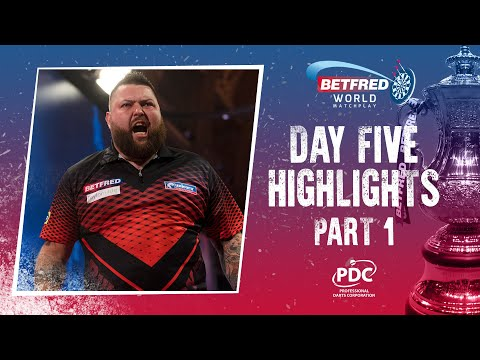 INCREDIBLE DRAMA! Day Five Highlights   2021 Betfred World Matchplay (PART ONE)