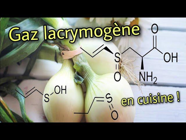 🧅 Gaz lacrymogène en cuisine : Vengeance chimique de l'oignon !