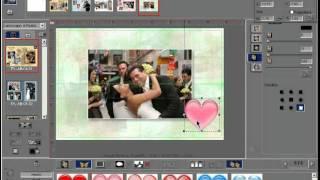 Applying Clipart on Dg Foto Art