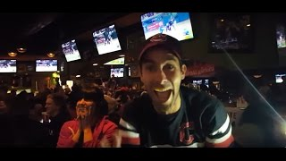Cleveland Bar Erupts after Homerun in World Series Game 7