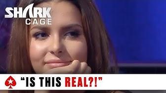 Amazing Poker Hand with Miss Finland - Mayhem on the Shark Cage! | PokerStars