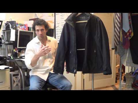 y4574  Weatherproof Black Jacket Sz. M-L