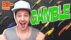 CsGo Gamble - ERSTES GAME/ERSTER WIN