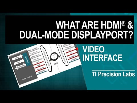 TI Precision Labs - Video Interface: What Are HDMI & Dual-Mode DisplayPort?