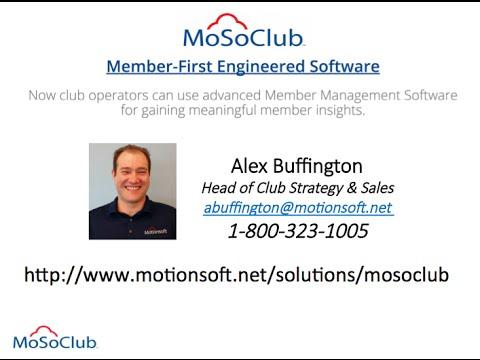 MoSoClub Software Demo