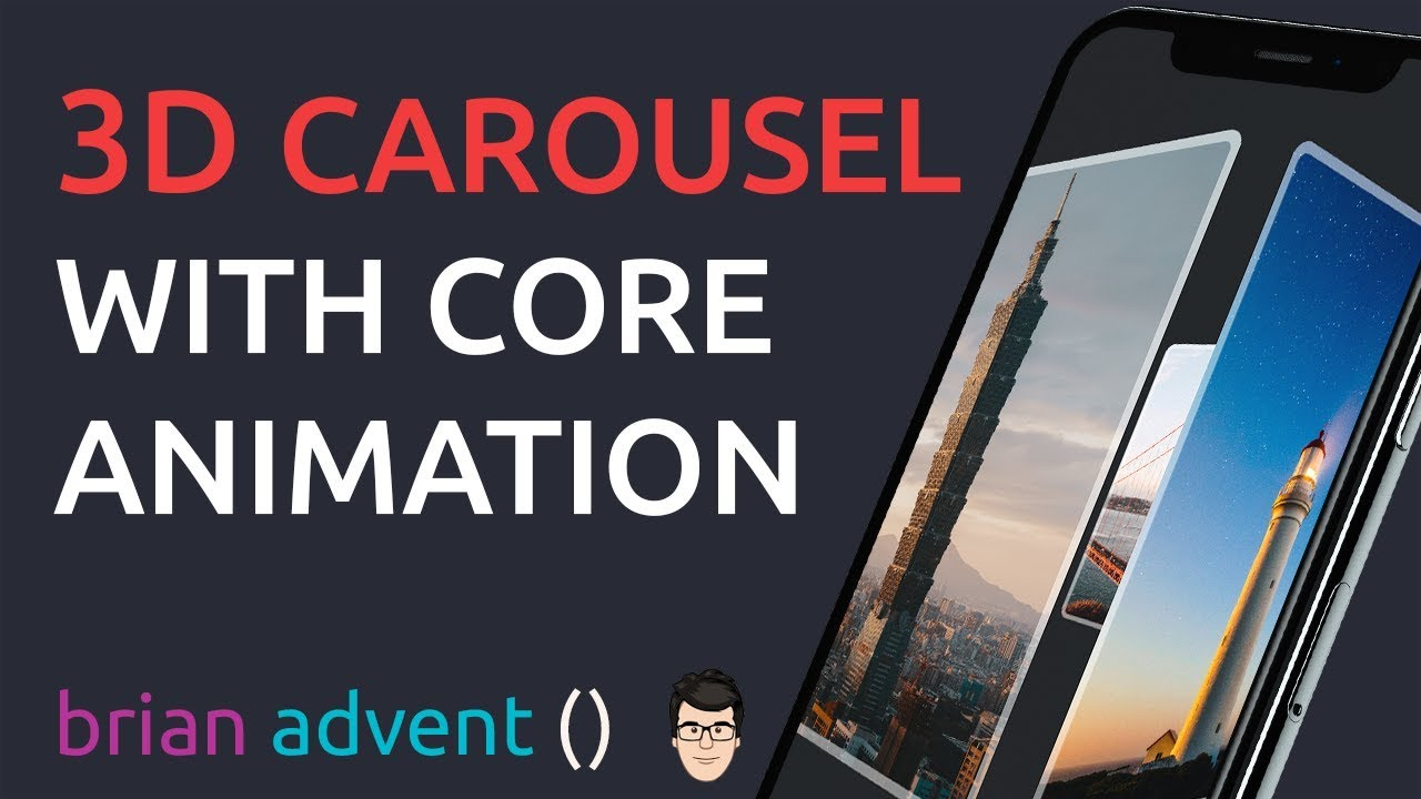 iOS Swift Tutorial: Build an Interactive 3D Carousel with Core Animation